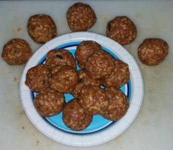 egg sausage balls
